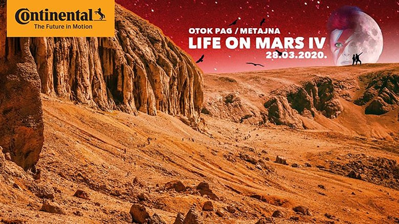 Continental Life on Mars IV