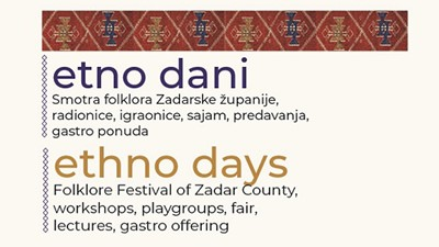 Ethno days 2019. - National museum of Zadar