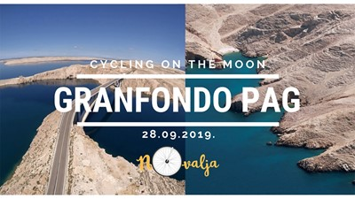 Granfondo Pag – Cycling on the Moon