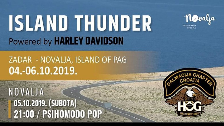 Island Thunder Powered by Harley Davidson