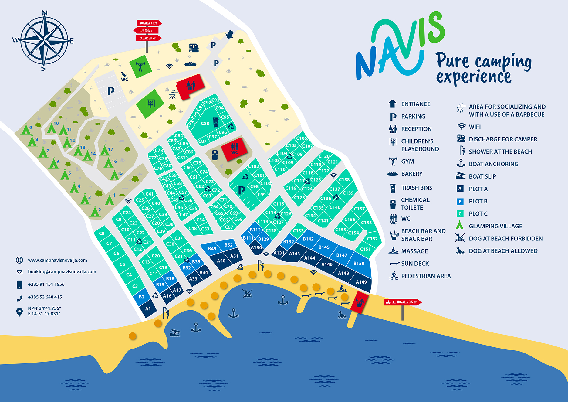 This is an image display of camp Navis map.